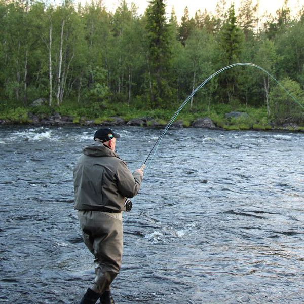 Fly Fishing. Summer Fishing
